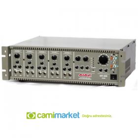 Atak ER-406 T Anfi Trafolu 400 Watt Ekho Reverb USB Cami Anfisi