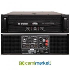 DDS D8000 Power Anfi 2X4000 Watt
