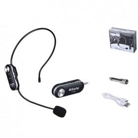 König K-503 Şarjlı Telsiz Kablosuz Headset Kafa Mikrofon