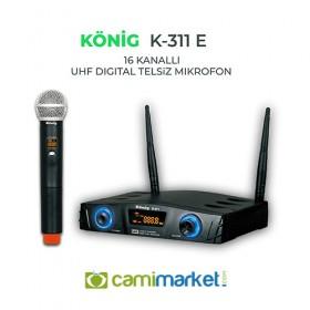 König K-311E UHF Telsiz El Mikrofonu