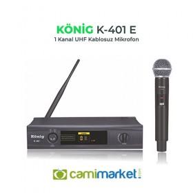 König K-401Y UHF Telsiz Yaka Mikrofonu