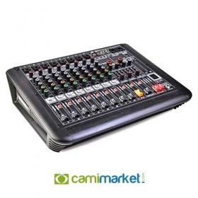 König K-8-P500FX 8 Kanal Power Mikser Anfi 2x250 Watt