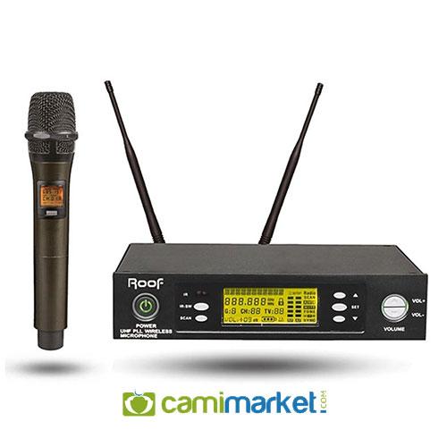 Roof R-1150S El Tipi UHF Kablosuz El Mikrofonu