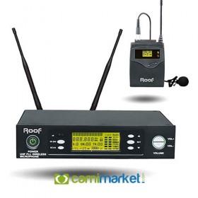 Roof R-1150S Yaka Tipi UHF Kablosuz Yaka Mikrofonu