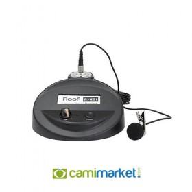 Roof R-651 Volüm Kontrol Cami Kürsü Yaka Mikrofonu