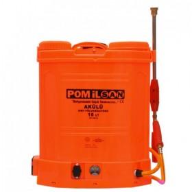 Pomilsan Çift Motorlu Akülü 16 LT Sırt İlaçlama Pompası