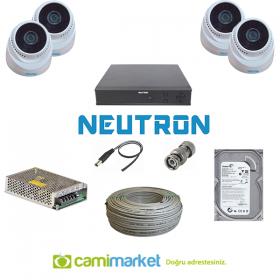 Cami Güvenlik Kamera Seti 2 Neutron