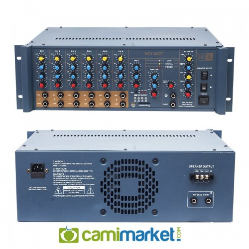 Notel NOT-660T 600 Watt Trafolu Mixer Cami Anfi