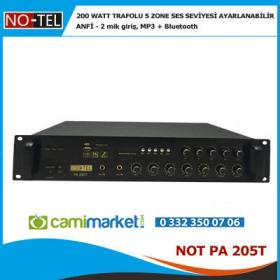 Notel Not Pa 205T - 200 Watt Trafolu