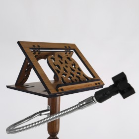 Minber Hutbe Kürsüsü Mikrofonluk - Ahşap Mikrofonluk