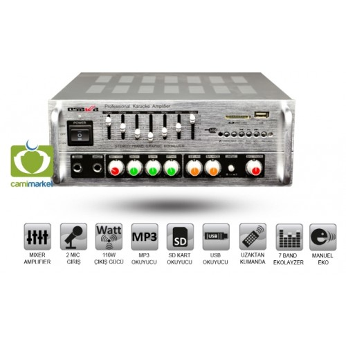 Osawa AV-987 Stereo Usb li Anfi