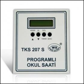 Akıllı Okul Zil Saati TKS 207 S