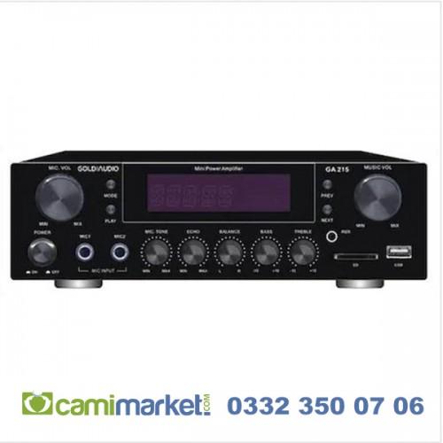 Gold Audio GA 215 USB-SD 100 Watt Stereo Amplifier Anfi